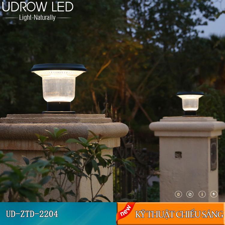 Đèn Trụ Năng Lượng Mặt Trời UD-ZTD2204