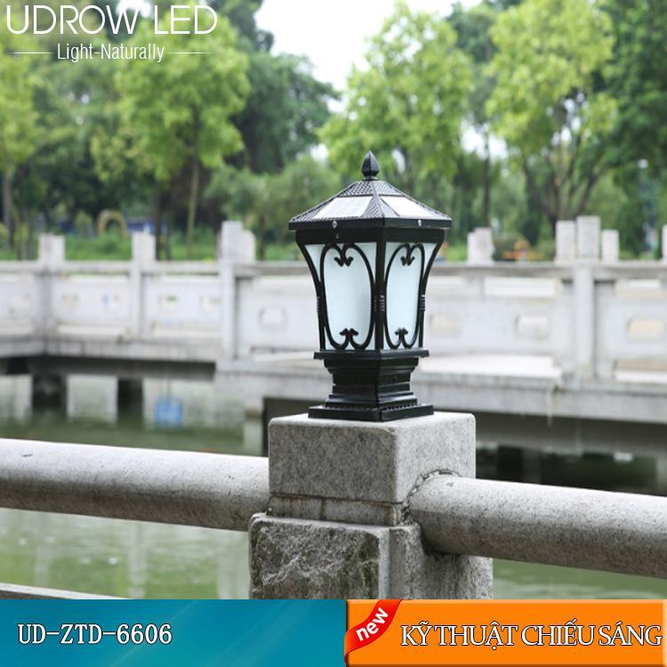 Đèn Trụ Năng Lượng Mặt Trời UD-ZTD6606